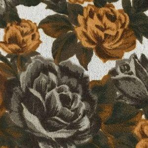 Vintage Grey and Brown Floral Romper